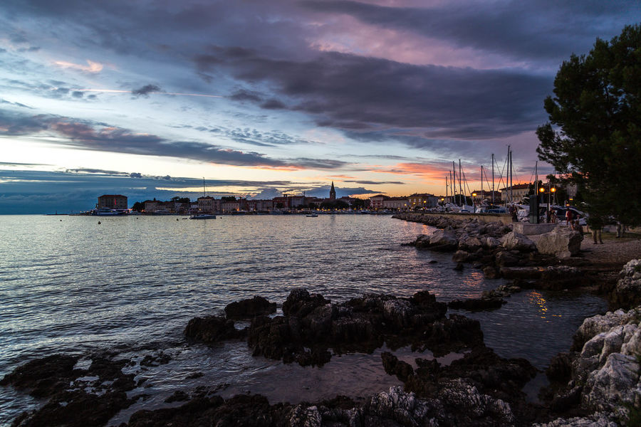 Poreč by night... Beautiful Sky Croatia Porec, Croatia Poreč Coast Poreč Town Architecture Beautiful Skies Beauty In Nature Building Exterior Built Structure City Cloud - Sky Clouds And Sky Coast Croatian Town Nature Nautical Vessel Outdoors Porec Rocks Scenics Sea Sky Sunset Water