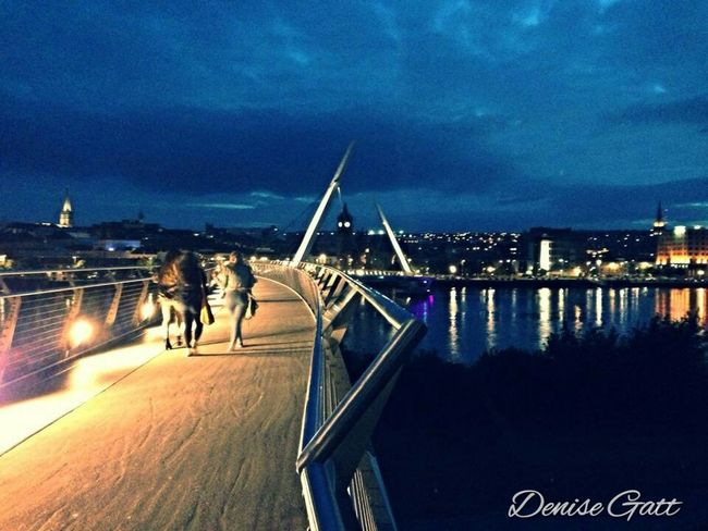 Derry peace bridge The Explorer - 2014 EyeEm Awards Travel Eye4photography