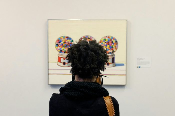 Streetphotography Street Photography Museum Painting Waynethiebaud The Street Photographer - 2015 EyeEm Awards