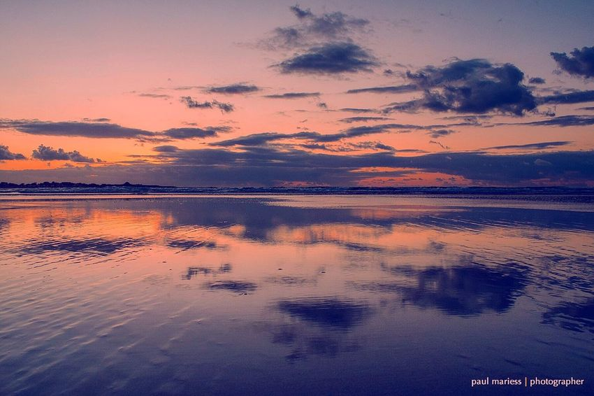 Reflection Reflections EyeEm Nature Lover EyeEm Best Shots Coastline Guernsey Clouds And Sky Symmetry EyeEm Best Shots - Landscape Eye4photography  Landscape_Collection Water_collection Water Reflections Sea And Sky Reflection_collection Symmetrical Seascape Beach Clouds Eyem Best Shots Sunset Sunrise_sunsets_aroundworld Sunset_collection Beautiful
