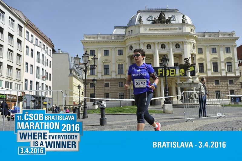 Bratislava, Slovakia Happy Happy :) Architecture Building Exterior Day Front View Half Marathon My Second Half Marathon One Person Outdoors Soddisfazioni