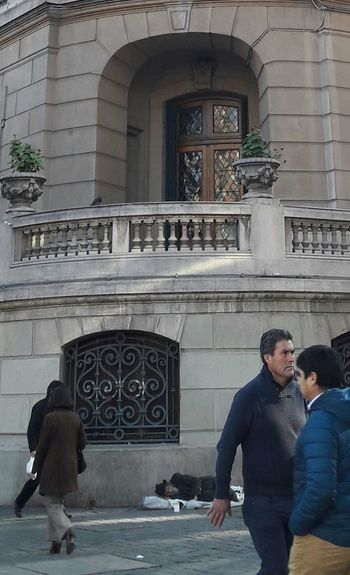 Indifference Indifference Kills Despersonalization That Nobody Sees Contrasts City Santiago De Chile Club De La Unión