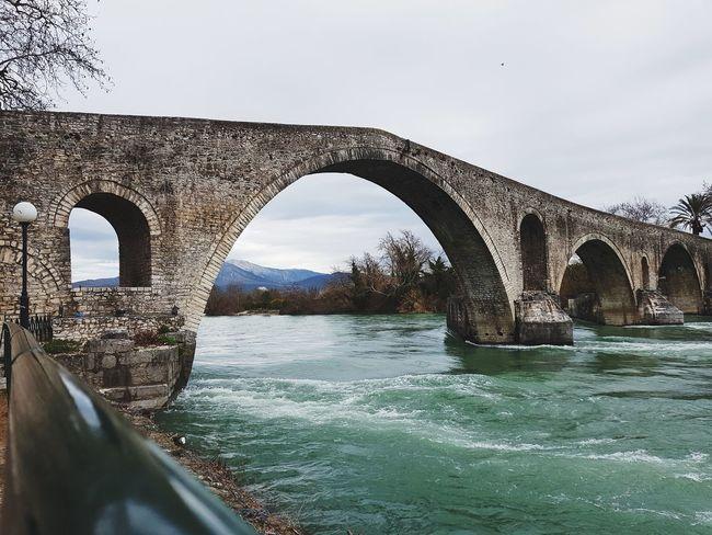 Γεφύρι της Άρτας Nature Outdoors Bridge Arch Bridge Sky Built Structure Connection