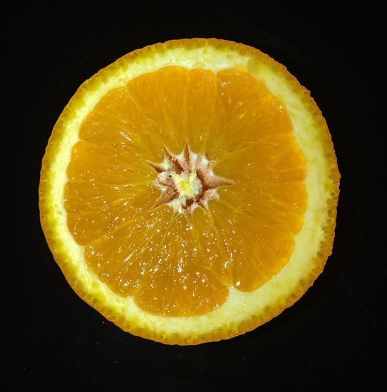 Orange Fruit Healthy Eating Cross Section Food And Drink Black Background Citrus Fruit Freshness SLICE Food Studio Shot Halved No People Raw Food Sour Taste Blood Orange Indoors  Close-up Day