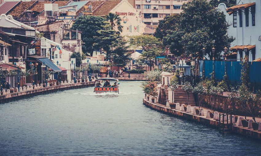 melaka, malaysia ASIA Melaka, Malaysia. Travel Photography Architecture Building Exterior Built Structure City Day Malacca Moored Nature Nautical Vessel No People Outdoors River Transportation Travel Destinations Tree Water Waterfront