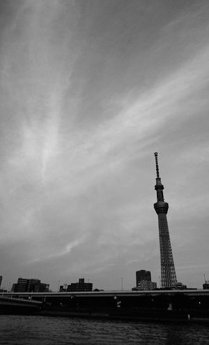 Tokyo sky tree Nautical Vessel History Cultures Built Structure Skyscraper Tower