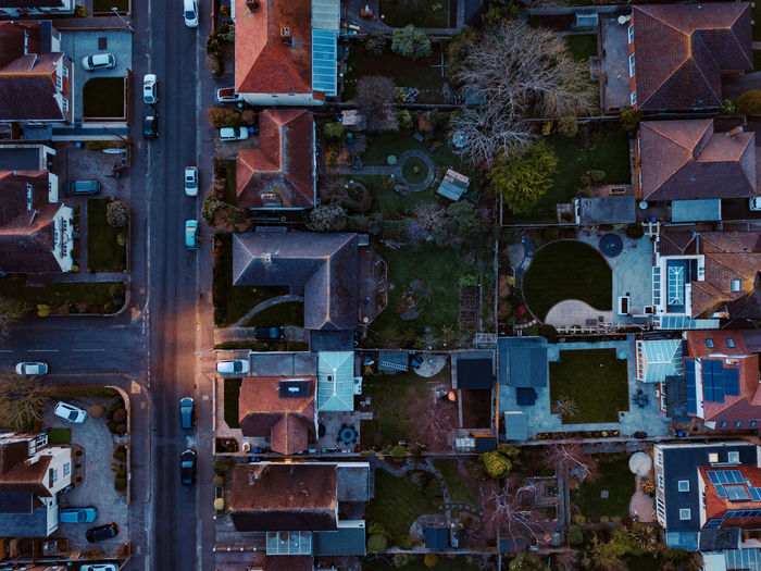 The block Drone  Uav Dronephotography Topdown City Block House Dawn Architecture Building Exterior Built Structure No People Old Industry Building Outdoors Full Frame Day Backgrounds Metal Technology Tree Factory Plant Dusk Connection High Angle View