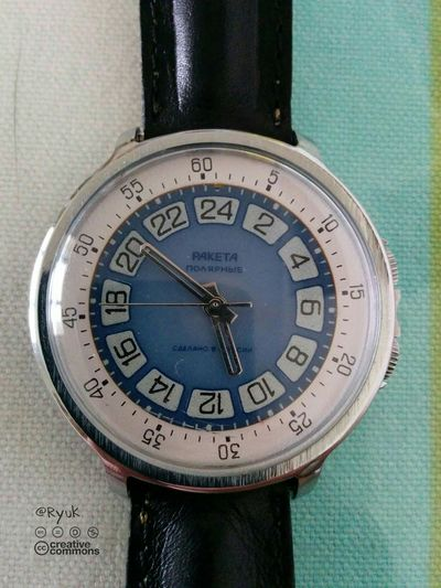 Streamzoofamily TheVille Old Watch Watch Raketa Paketa Wristwatch