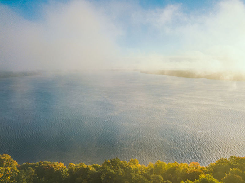 Autumn Fog Aerial Shot Drone  Kaunas Lagoon Lietuva Nature Agriculture Beauty In Nature Day Europe Field Growth Idyllic Landscape Mavic Mavic Pro Nature No People Outdoors Plant Rural Scene Scenics Sky Tranquil Scene Tranquility Water