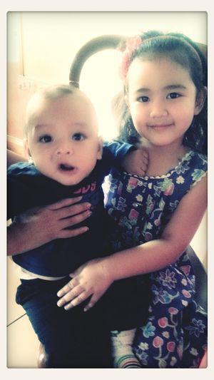 niece and nephew P.j and Jinyu. ♥
