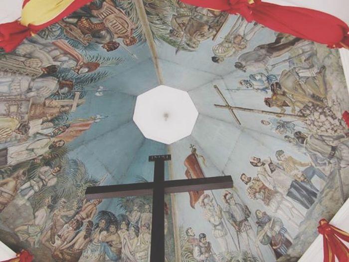 Taking Photos Religious  Religious Spot Crosses Historical Sights Philippines Magellanscross