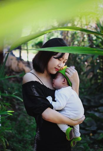 Mom and baby Women Child Females Real People Family Family With One Child #NotYourCliche Love Letter Mother