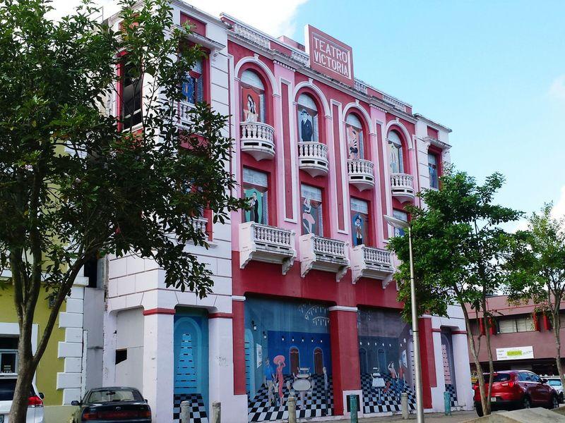 Puertorico Kanyn Building Edificio ? Humacao Teatrovictoria Puerto Rico