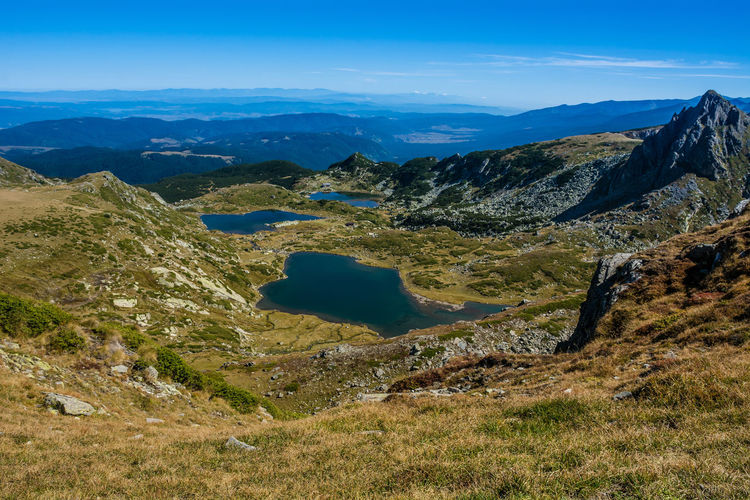 Seven Rila Lakes, Bulgaria Scenics - Nature Mountain Beauty In Nature Environment Tranquil Scene Tranquility Landscape Non-urban Scene Sky Nature No People Day Mountain Range Water Blue Idyllic Outdoors Land Cloud - Sky Lake Lake View Nature Nature_collection Nature Photography Beauty In Nature