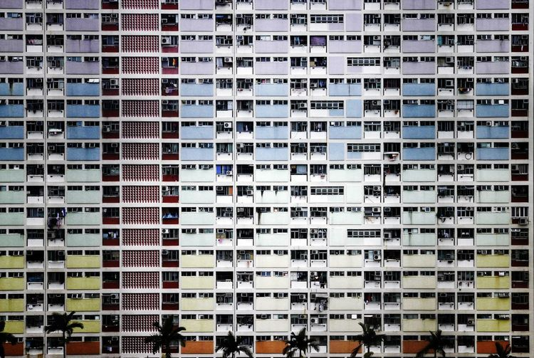 Rainbow Density Concrete Jungle Density Vintage Style Old Street Hong Kong Architecture Hong Kong NostalgicHongKong Lessismore Minimalism Simple Photography Backgrounds Full Frame Pattern Architecture Building Exterior Close-up Residential Structure Residential District Exterior TOWNSCAPE Crowded Cityscape Building Pixelated