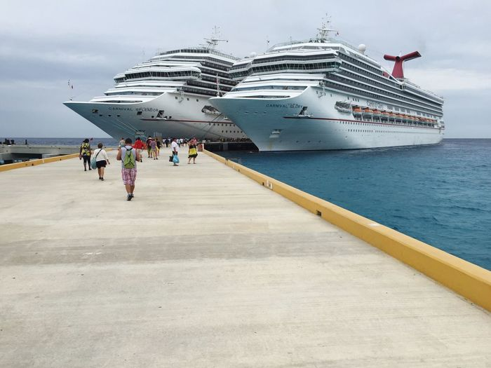 Carnival cruise Cruise Port Cozumel Carnival Cruise Ocean Vacations Travel Port Sea Cruise Ship