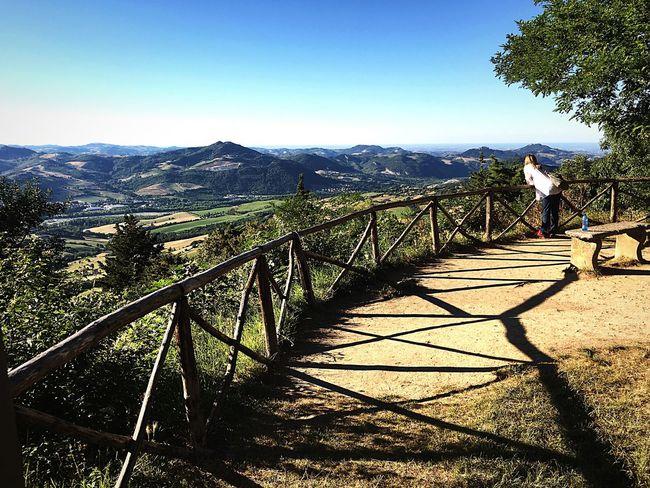 Sanleo Emiliaromagna Italy Landscape Scenics Belvedere Valley Valmarecchia Montefeltro