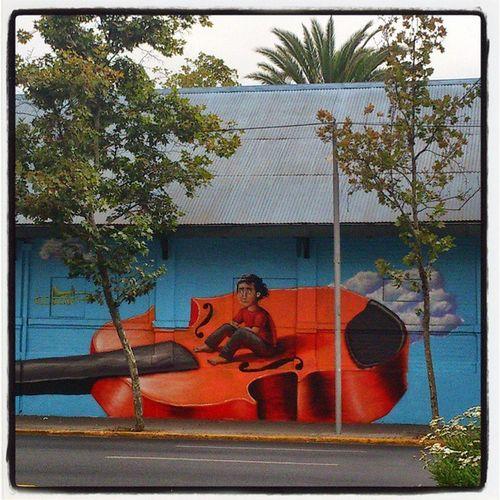 Orquestas juveniles de Chile Streetartchile Streetart Graffiti
