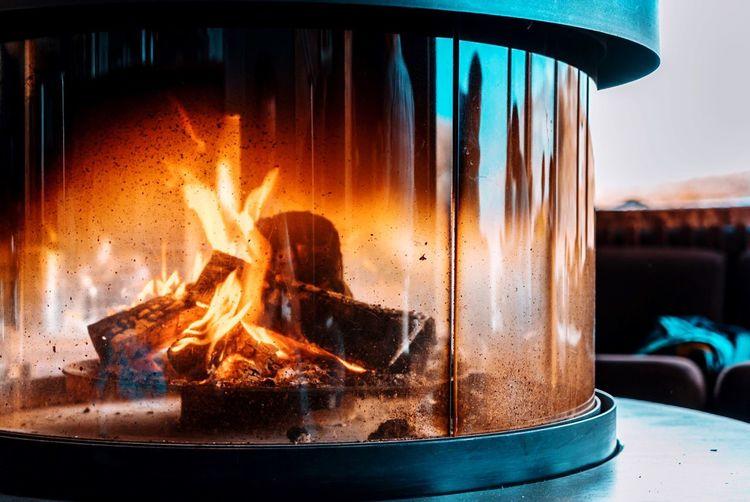 Flame Burning