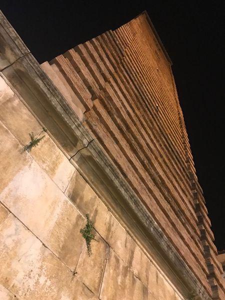 Pietrasanta il campanile del duomo Low Angle View