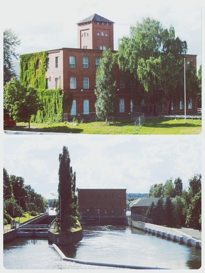 Factory & museum. Valkeakoski Green Architecture