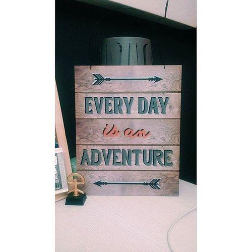 Empieza una gran semana 😀❗ Staypositive Everydayisanadventure Intothewild Changes