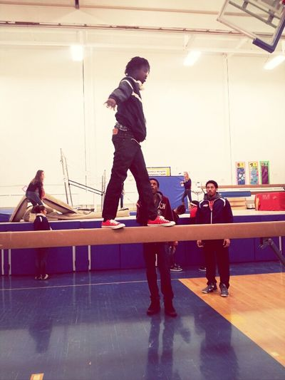 Tice on beam (:
