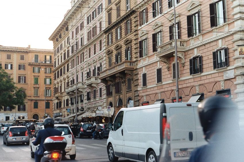 Moving Around Rome Rome Car City Commute Italy Land Vehicle Mode Of Transport Outdoors Real People Transportation