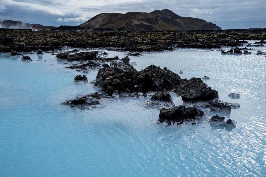 Blue Lagoon, Iceland Iceland Nature Travel Landscape Nature Outdoors Rock - Object Scenics Travel Destinations Volcanic Landscape