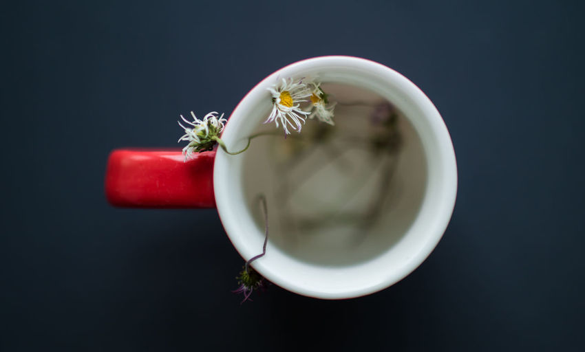 Close-up of cup of tea