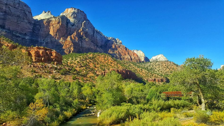 Hiking Landscape Photography Taking Photos Travel Photography Traveling United States Utah Zion National Park Beauty In Nature Hiking Photography Hiking Photos Hikingadventures Landscape Landscape_photography Mountain Nature No People Road Trip Scenics Travel Destinations Zionnationalpark