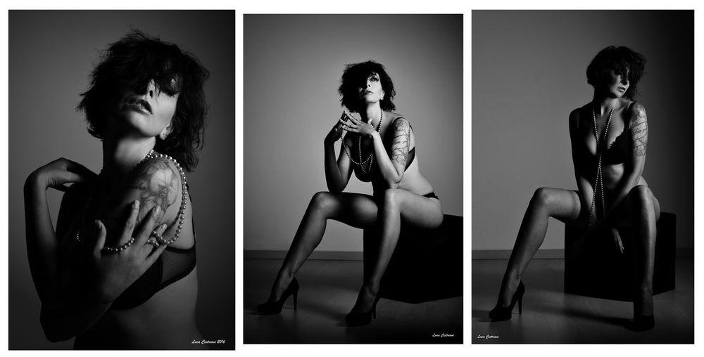 info@ Instagram:ANNALISAMODELStudio Shot Beautiful Woman Fashion Model Body Paint Beauty Portrait Lingerie People Blackandwhite Photography Old-fashioned Portrait Photography Young Women Friuli Venezia Giulia Annalisamodel Bw