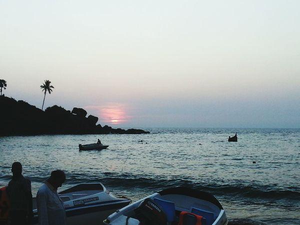 God's own country!! Beautiful Sunset Arabian Sea Balloffire SandsOfTime