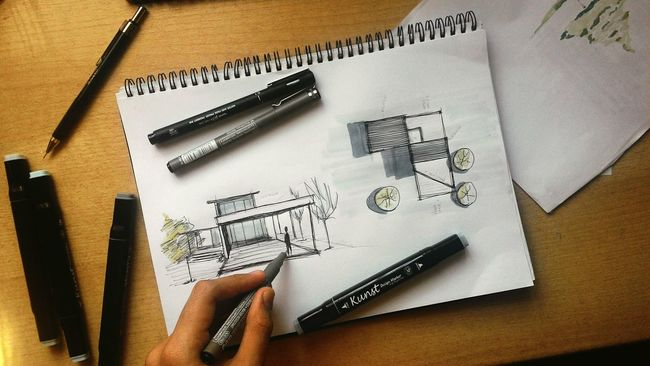 My Hobby sketch some futuristic building since it have always been my dream to be an ARCHITECT. Architecture Enjoying Life ArtWork Sketch Artline Art Moderndesign Buildings