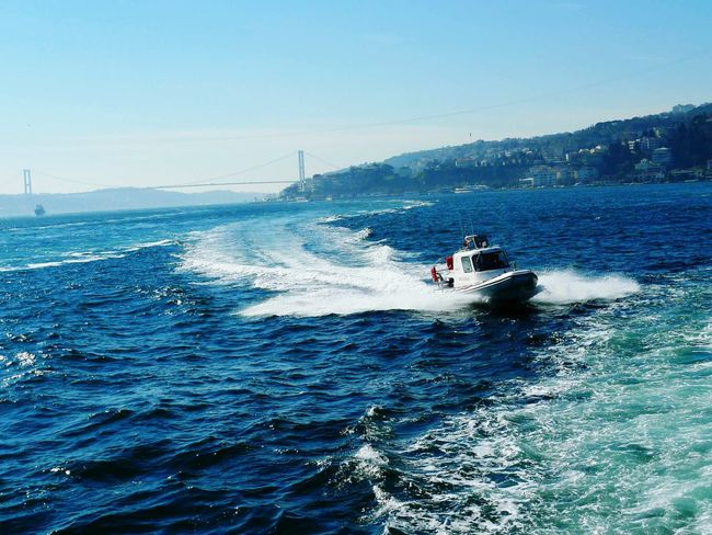 Sea Nautical Vessel Travel Water Aquatic Sport Wave Sailing Speed Outdoors Adventure Istanbul Landscape Turkey