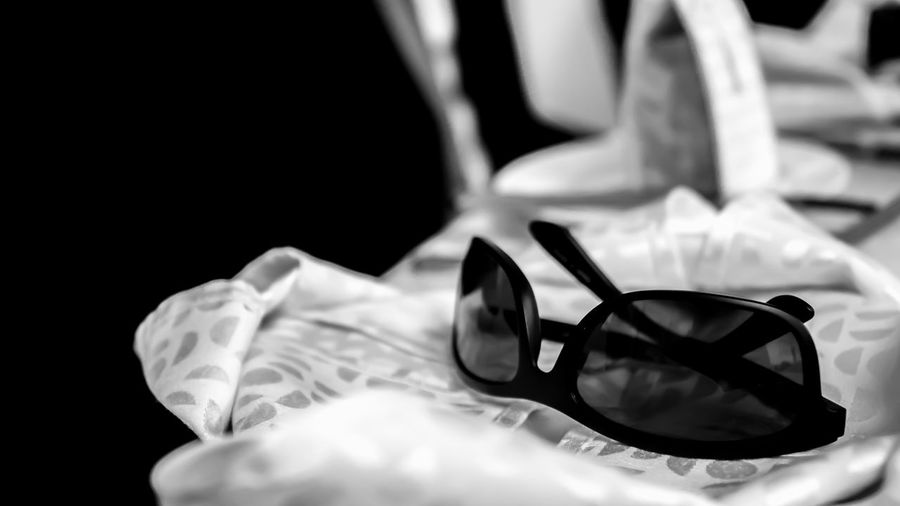 Sunnies on the Table Close-up Detail Dining Event Focus On Foreground Function Hotel No People Selective Focus Still Life Sunglasses Sunnies Tablecloth