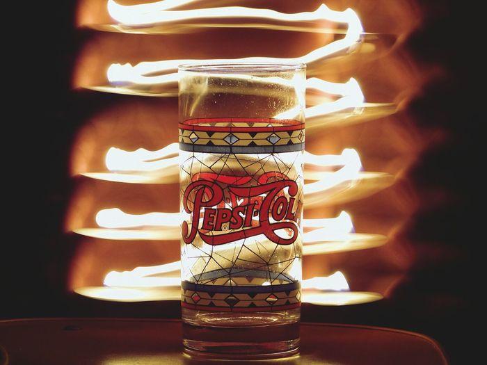 Lightpainting Fire Longexposure