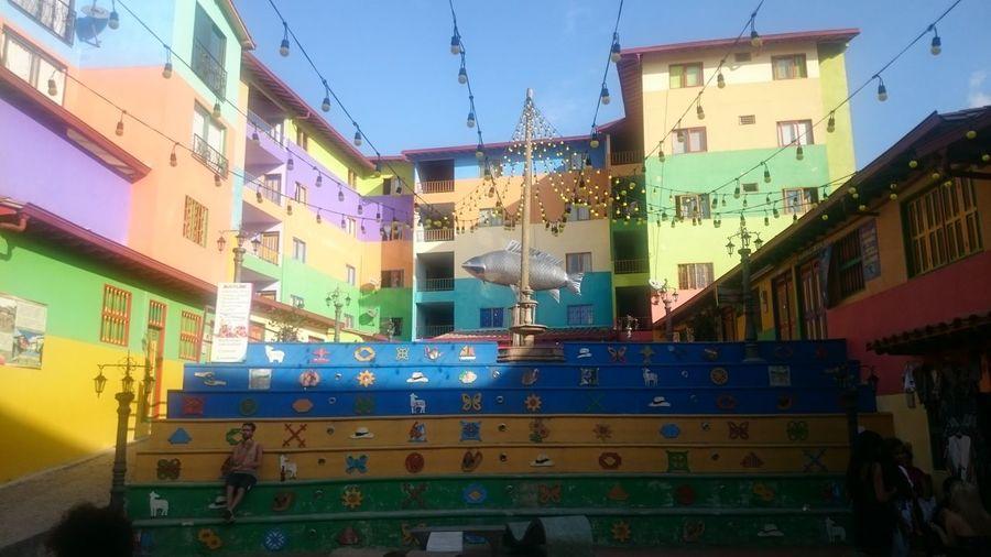 Socalos.... Guatape Colorful