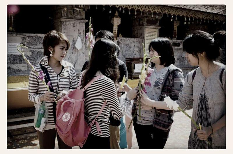 RePicture Team Preying My Respect Doi Suthep My Team ??? Doi suthep temple, Chaingmai,Thailand. #land of smile ??