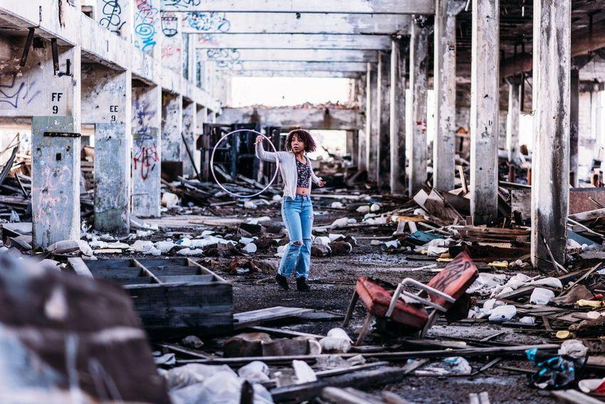 Abandoned Damaged Architecture Run-down Decline Messy Destruction