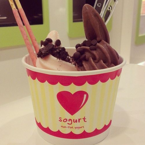 Second time at Sogurt !! Yumyum!! But expensive!! But delicious also!! Haha!! Shared with my five year old cousin and she enjoyed it tremendously!! @sogurtsg Thanks! Dessert Food Desserts TagsForLikes yum yummy amazing instagood instafood sweet chocolate cake icecream dessertporn delish foods delicious tasty eat eating hungry foodpics sweettooth