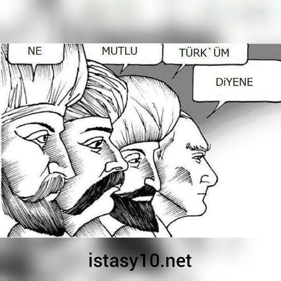 Ne Mutlu Türküm Diyene... Alparslan Osmangazi Fatihsultanmehmet MustafaKemalAtatürk Atatürk Turkiye atalarimiz Türk turkiye