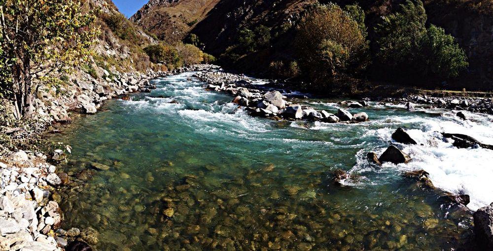 River Kazakhstan Nature