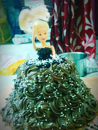 Barbie Doll Cake♥ Cakes, Sweets, Love It ♡!!!