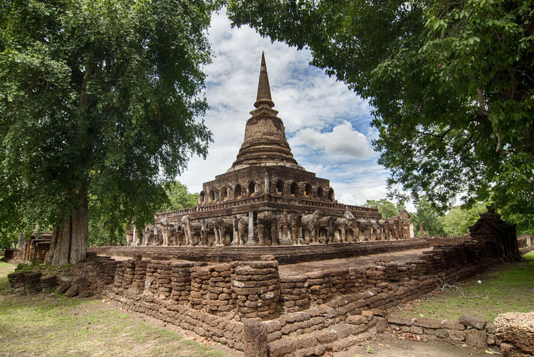 Pagoda Sukhothai Historical Park Ancient Ancient Civilization Buddhist Temple History Place Of Worship Religion Spirituality Temple Travel Destinations
