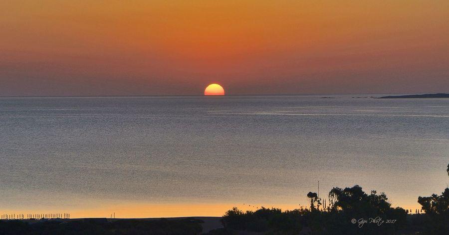 Sunset Sun Landscape Sea Sardegna Sardinia TankaManna Arzachena