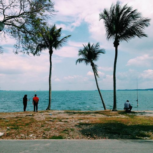 Changi Beach, Singapore. Enjoying Life Everyday Lives Clouds And Sky Landscape Traveling Life Is A Beach Sunset Sky Beach Holiday