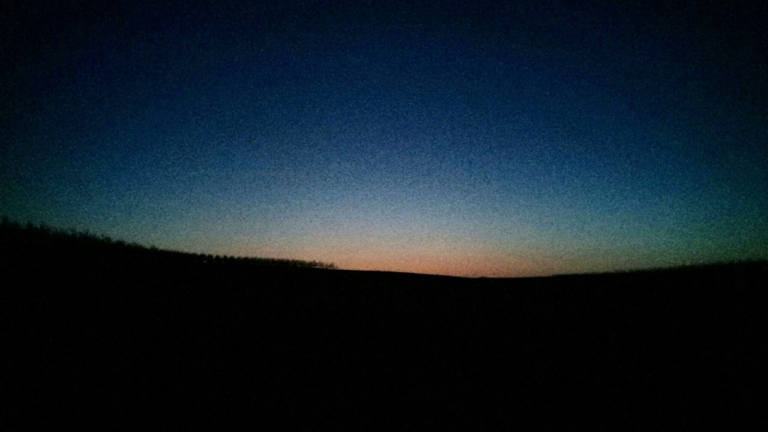 silhouette, nature, clear sky, dark, no people, tranquility, tranquil scene, landscape, beauty in nature, scenics, night, sky, outdoors
