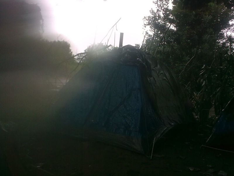 Camping Lens Flare Nature No People Outdoors Rany Day Sky Sunlight