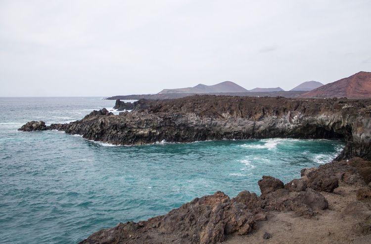 Los Hervideros Lanzarote Islas Canarias Canary Islands Kanaren Kanarische Inseln Lava Mar Meer The Great Outdoors - 2016 EyeEm Awards